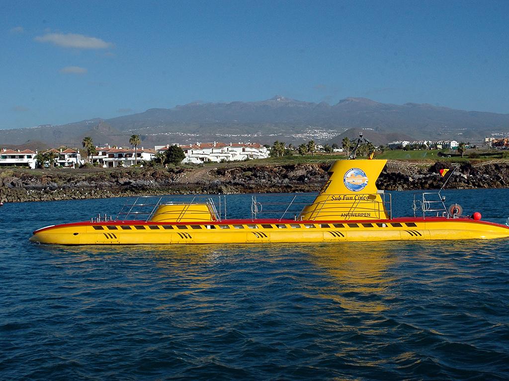 подводная лодка из анталии